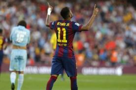 Barcelona: Mira la polémica celebración de Neymar [VIDEO]