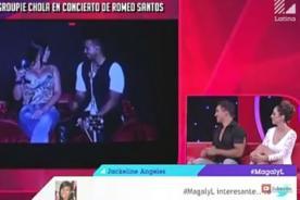 Amiga de Gerald Oropeza hizo 'travesuras' con Romeo Santos - VIDEO