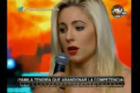 Combate: ¡Yamila Piñero dejó el reality por estas terribles lesiones! - VIDEO