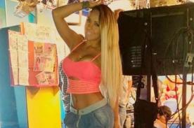 Instagram: ¡Dorita Orbegoso se deja besar el derrier por 'chibolo' - VIDEO