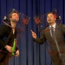 Robert Pattinson tuvo enfrentamiento de dardos con Jimmy Fallon