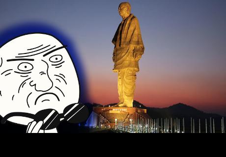 Así se ve desde el espacio la 'estatua' más grande del mundo