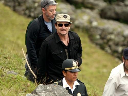 Bono en Cusco: I love Machu Picchu