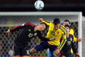 Colombia confirmó su once para el choque ante México