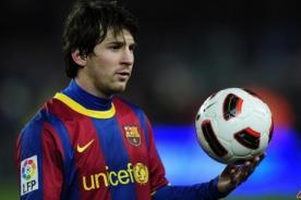 Lionel Messi la rompe jugando básquetbol (Video)