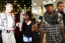 Fútbol peruano: Farfán y Zambrano llegaron a Lima pensando en Colombia