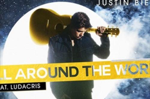 Justin Bieber lanzó oficialmente su canción 'All Around the World'