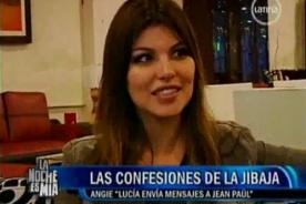 Angie Jibaja afirma que Lucía Oxenford volvió a escribirle a su novio