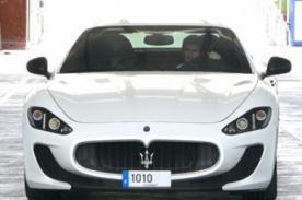 Lionel Messi se luce con nuevo juguete: Un Maserati MC Stradale