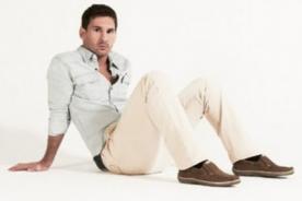 Lionel Messi nueva imagen de los calzados Stork Man