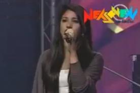 Rojo fama contrafama: Participante canta Himno Nacional en casting - Video