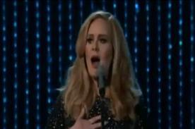 Adele: Revive su espectacular interpretación en los Oscar 2013 - Video