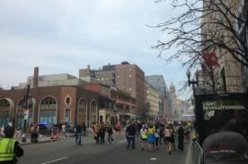 Tercera explosión se registró en la biblioteca JFK - Tragedia en Boston