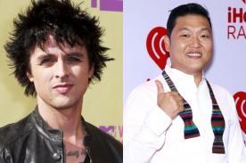 Billie Joe Armstrong: Psy es el herpes de la música