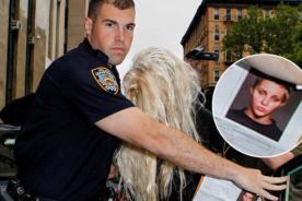Amanda Bynes es fotografiada por la policía sin su peluca rubia