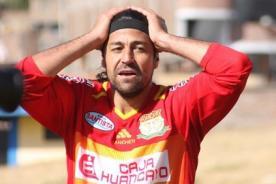 Sergio Ibarra no podrá jugar ante Sporting Cristal