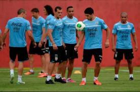 Selección uruguaya también se alista para encuentro ante Perú