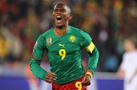 Samuel Eto'o volverá a jugar con Camerún luego de retirarse de su selección