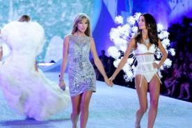 Jessica Hart criticó participación de Taylor Swift en el desfile de Victoria's Secret
