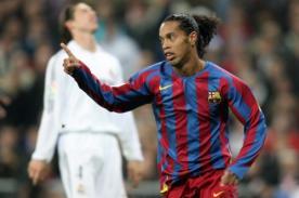 Video: Un día como hoy Ronaldinho fue ovacionado en el Santiago Bernabéu