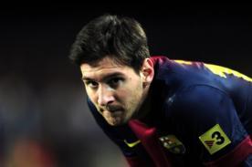 Lionel Messi: Esta lesión me tendrá mucho tiempo fuera de las canchas