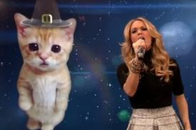 Video: Carrie Underwood parodia a Miley Cyrus por Acción de Gracias