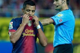 Video: Alexis Sánchez falló increíble oportunidad de gol con Barcelona