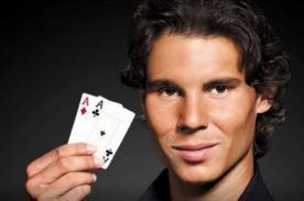 Rafael Nadal y el brasileño Ronaldo se enfrentarán en torneo de póker