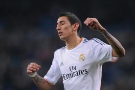 Video: Ángel Di María dedica un gesto obsceno a hinchas de Real Madrid