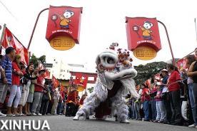 Chinos dan la bienvenida al Año Nuevo Lunar 2014