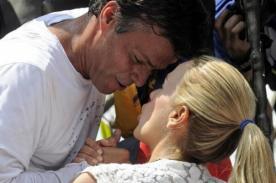 Despedida de Leopoldo López a su esposa conmueve redes sociales - FOTOS