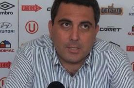 Jorge Vidal sobre hincha muerto: Universitario no aceptará la responsabilidad
