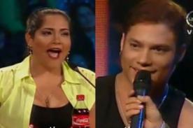 Yo Soy: Katia Palma e imitador de Ricky Martín en coqueteos - VIdeo