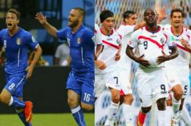 Minuto a minuto Italia vs Costa Rica (0-1) – Mundial Brasil 2014 – ATV En Vivo
