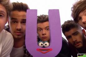 One Direction enseñó el abecedario con Plaza Sésamo [Video]