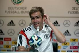 Phillipp Lahm confirmó que abandona la selección de Alemania