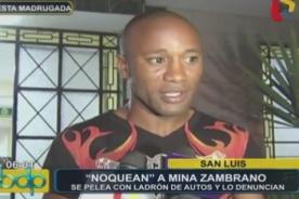 ¿Boxeador Carlos Zambrano sería denunciado por defenderse de un ladrón? [VIDEO]