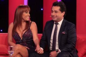 Magaly Medina habla sobre rumores de infidelidad de su pareja
