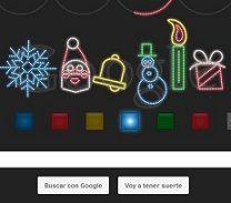 Felices Fiestas: Google celebra navidad con un simpático doodle