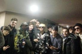 Super Junior-M y los Backstreet Boys se encontraron en programa chino