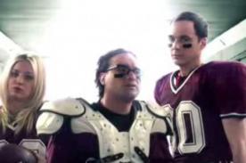 The Big Bang Theory presentó divertido spot en el Super Bowl 2013 - Video