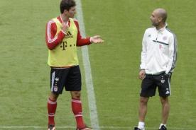Bayern Múnich entrenó bajo las órdenes de Pep Guardiola sin Pizarro