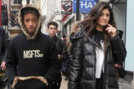 Kylie Jenner y Jaden Smith juntos y tomados de la mano