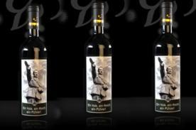 Botellas de vino con imágenes de Hitler causan furor en Italia
