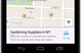 Google muestra publicidad en Google Maps para Android