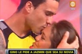 Esto es Guerra: Gino y Jazmín formalizan su amor entre lágrimas - Video