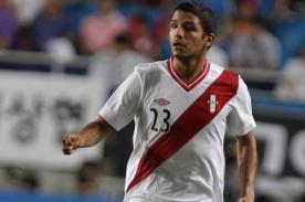 Reimond Manco: Me fastidia no poder jugar el Perú vs Uruguay