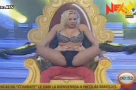 Combate: Yamila Piñero realiza sensual baile a Nicolás Maiqués - Video