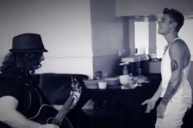 Justin Bieber realiza curisoso cover de Metallica - Video