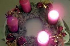 Segundo domingo de Adviento: Oraciones para encender las velas